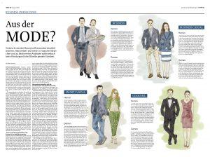 Business Dresscodes, Wirtschaftszeitung